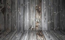 Деревянная текстура предпосылки, в сером цвете Стоковые Изображения RF