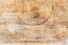 Деревянная текстура предпосылки ровных деревянных доск вести счет и запятнанных с временем Стоковое Фото