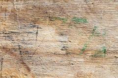 Деревянная текстура предпосылки ровных деревянных доск вести счет и запятнанных с временем Стоковое фото RF