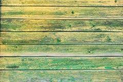 Деревянная текстура предпосылки Старые доски Стоковое Изображение RF