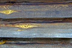 Деревянная текстура старых доск загородки Стоковая Фотография RF