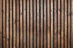Деревянная текстура с вертикальными планками Стоковые Фотографии RF