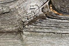 Деревянная текстура с естественными картинами, старая древесина с узлами Стоковое фото RF