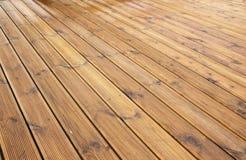 Деревянная текстура, терраса Стоковое Изображение RF