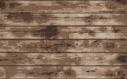 Деревянная текстура grunge Деревянная предпосылка планки Иллюстрация вектора eps10 Стоковое фото RF