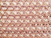 Деревянная текстура weave Стоковые Изображения