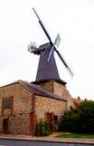 Деревянная традиционная ветрянка Стоковые Фотографии RF