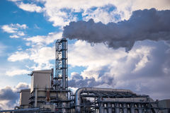 Деревянная фабрика Стоковое Фото