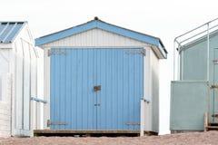 Деревянная хата пляжа Стоковое фото RF