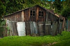 Деревянная хата Стоковые Фото