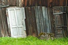 Деревянная хата Стоковое Изображение