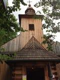Деревянная церковь в Zakopane, Польше Стоковые Изображения