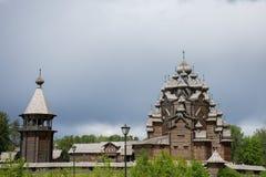 Деревянная церковь правоверного стоковое изображение