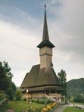 Деревянная церковь Botiza Стоковые Фотографии RF