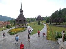 Деревянная церковь Botiza Стоковое Изображение RF