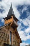 Деревянная часовня стоковая фотография rf