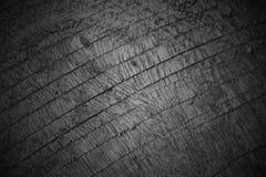 Деревянная черно-белая картина крупного плана предпосылки текстуры стоковое фото