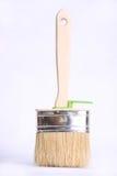 Деревянная щетка для краски Стоковое Изображение RF