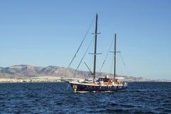 Деревянная яхта Стоковое Фото