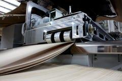 Деревянная shredding машина Стоковые Изображения