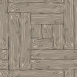 Деревянная striped предпосылка текстурированная волокном Стоковые Фото