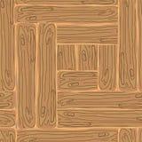 Деревянная striped предпосылка текстурированная волокном Стоковые Изображения RF