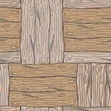 Деревянная striped предпосылка текстурированная волокном Стоковое Фото