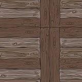 Деревянная striped предпосылка текстурированная волокном Стоковое Изображение