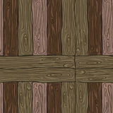 Деревянная striped предпосылка текстурированная волокном Стоковое Изображение RF