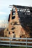 деревянное амбара старое Стоковое фото RF