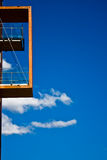 деревянное балкона самомоднейшее Стоковые Фотографии RF