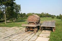 деревянное бочонка старое Стоковые Фотографии RF