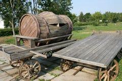 деревянное бочонка старое Стоковое Изображение RF