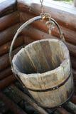 деревянное ведра старое Стоковая Фотография RF