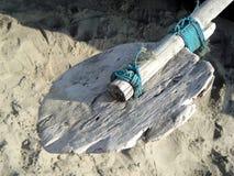 деревянное весла старое Стоковое Фото