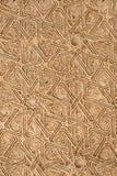 Деревянное высекаенное украшение Альгамбра стоковая фотография rf