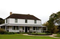 деревянное грандиозной домашней дома родственное Стоковые Изображения