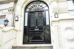 деревянное двери нутряное Стоковые Изображения RF