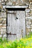 деревянное двери старое Стоковые Фото