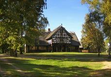 деревянное дома старое Стоковая Фотография RF