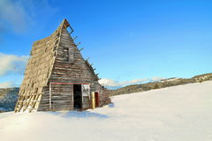 деревянное дома старое Стоковые Фото