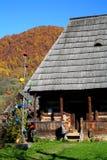 деревянное дома традиционное Стоковое Изображение RF