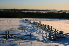 деревянное загородки старое Стоковая Фотография RF