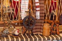 Деревянное закручивая колесо Стоковое фото RF