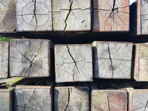 Деревянное искусство дизайна Стоковые Фото