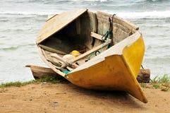 деревянное каня пляжа старое Стоковое фото RF