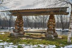 Деревянное качание Стоковая Фотография RF