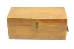 деревянное коробки старое Стоковая Фотография RF