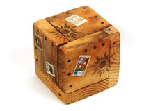 деревянное коробки экзотическое Стоковое фото RF