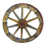 Деревянное колесо телеги Стоковая Фотография RF